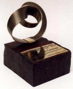 Estatuilla del Premio AMCA